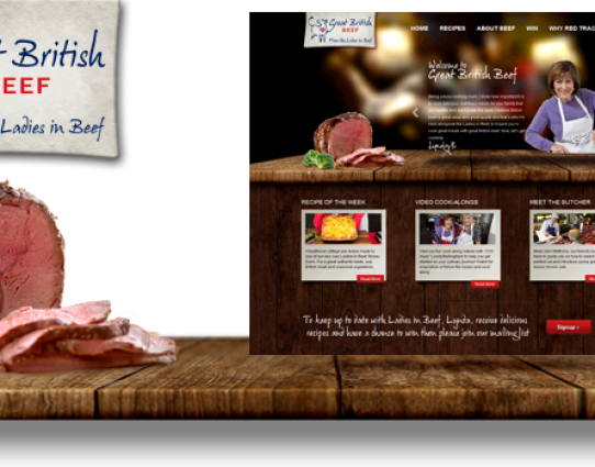 Great British Beef website