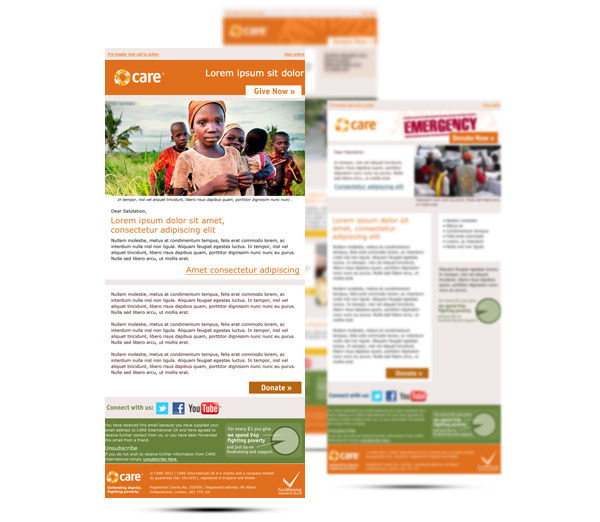 Care International Email Templates