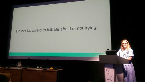 IoF: Digital Fundraising - Do not be afraid to fail. Be afraid of not trying